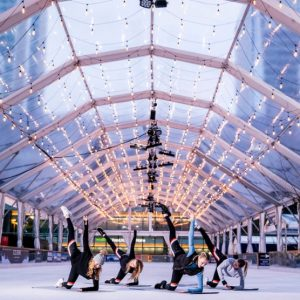 London's First Barre Class on Ice