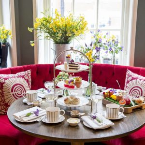108 Pantry Launches English Country Garden Afternoon Tea