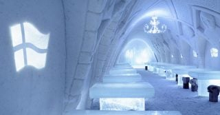 The SnowCastle, Finland