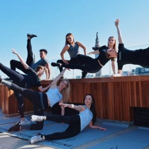 The Rooftop Exercise Class You Don't Want to Miss