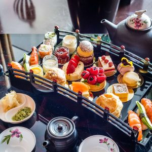 The Afternoon Tea That Swaps Sandwiches for Sushi