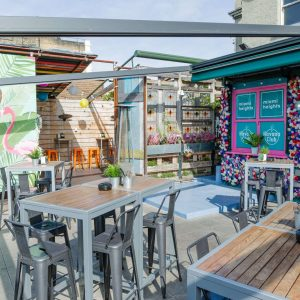 The Miami Heights Rooftop Terrace Opening in Kings Cross