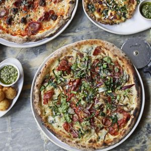 The Trendiest Place to Eat Pizza: Canova Hall