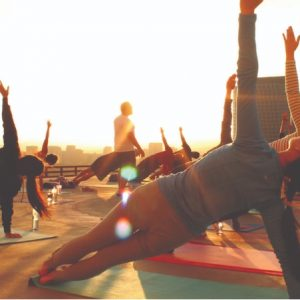 Rooftop Yoga Comes to Waterloo