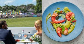 M Restaurants Pop-Up At Polo in the Park