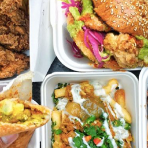 Biggest Lunch Market in East London by KERB
