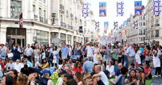 Regent Street's Summer Streets