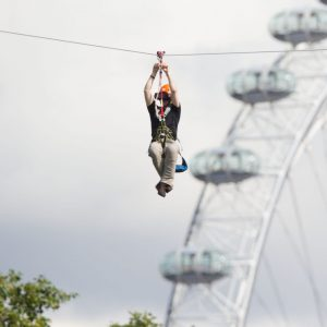 The World's First Augmented Reality Zipwire Comes to London