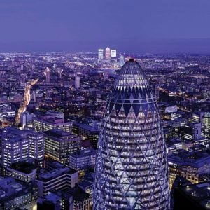 The Gherkin is About to Get a New Restaurant and Sky-High Bar
