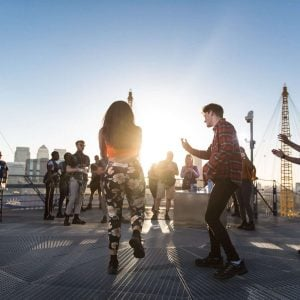 Rooftop Raving at the O2
