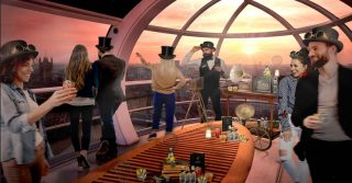 Schweppes in the London Eye