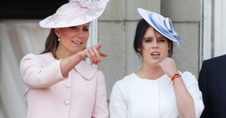 Eugenie and Kate Middleton Are School Pals