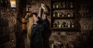 School of Witchcraft and Wizardry escape room