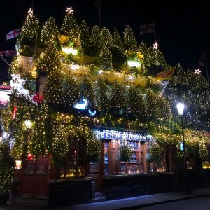 Is This The Most Christmassy Pub In London?
