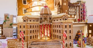 Crumbs! The Gingerbread City We're Obsessing Over