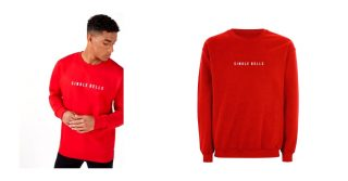 London Co Red Single Bells Jumper