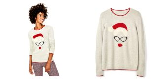 Boden Mrs Claus Jumper