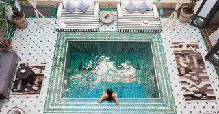 Riad Yasmine, Morocco