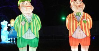 The Absolutely Bonkers Alice In Wonderland Lantern Festival