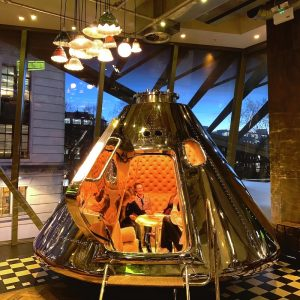 The Dining Space Capsule That's Out Of This World