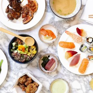 The Ned Has Launched An All You Can Eat Sushi Brunch