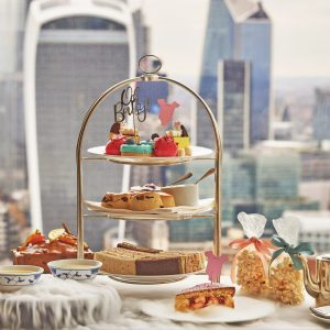 Shangri-La Launches a Sky High Royal-Tea