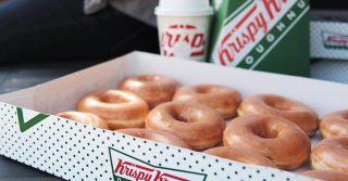 Krispy Kreme Magic In The Middle Pop-Up