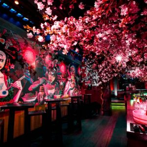 Check Out This Incredible Cherry Blossom Pop-Up