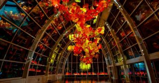 Kew Gardens Gets Some Incredible Glass Sculptures