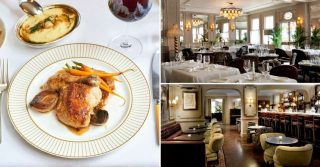 Sunday Lunch at Kettner's Townhouse