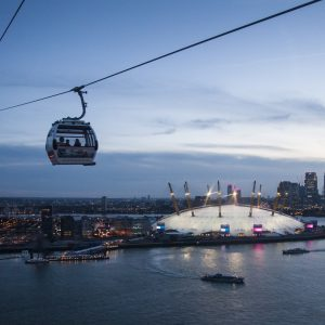 Dangleway Dining: Restaurant Opens On The Emirates Air Line