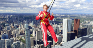 The EdgeWalk at the CN Tower