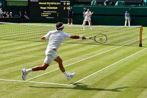Wimbledon Finals Screening at Bloomberg Arcade