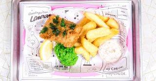 by CHLOE's Vegan Fish & Chips