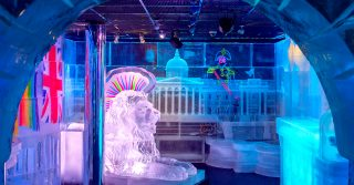 Belowzero and ICEBAR LONDON