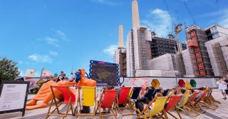 Wimbledon Outdoor Screenings at Battersea Power Station's Circus West Village