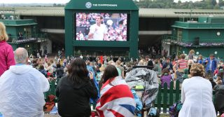 Murray Mount/Henman Hill, Wimbledon