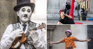 Be Wowed By Street Performers