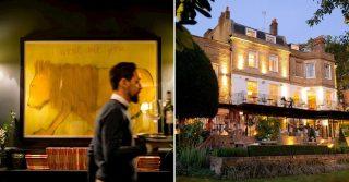 Enjoy Some London Restaurants With Remarkable Art