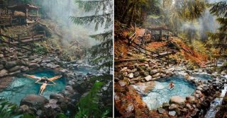 Terwilliger Hot Springs, Oregon