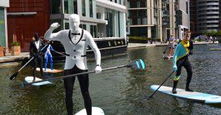 Paddleboard along the Thames