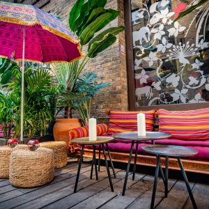 Cinnamon Kitchen's Tantalising Tropical Terrace Is Totally Terrific
