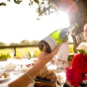 Sparkling Wine, Michelin-Star Food And A Vineyard Under The Stars? Sign Us Up!