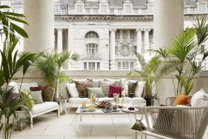 Hotel Cafe Royal Opens Pompadour Summer Terrace