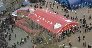 Bollinger Tent at Twickenham Stadium