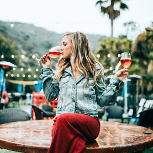 Why We'll Be Drinking From Rosé Tinted Glasses This August