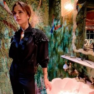 Victoria Beckham Christens The New Annabel's Loos (And They're Outta This World)