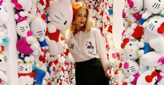 Hello Kitty 45th Anniversary Pop-Up