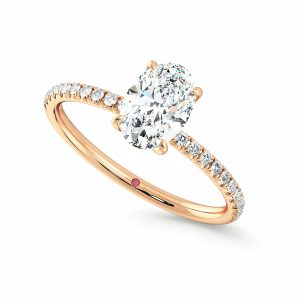Taylor & Hart Dulcet Rose Gold Ring