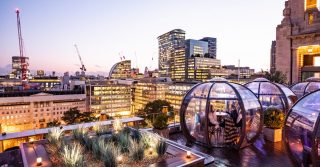 Skate Over To One Of London's Magical Igloos